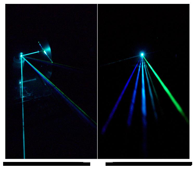 710px-Argon_laser_beam_and_diffraction_mirror