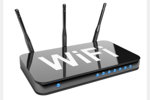 High speed internet router