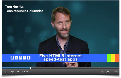 HTML5 Internet Speed Tests Review