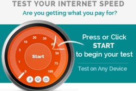 Start your Internet Test
