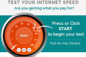 Start your Internet Test