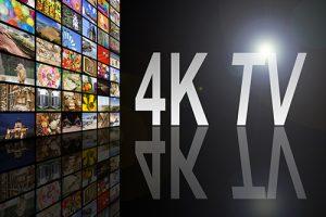 4K TV content