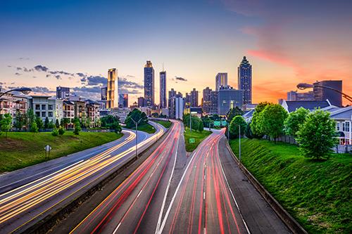 Atlanta city scape