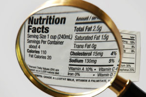 Internet Nutrition labels