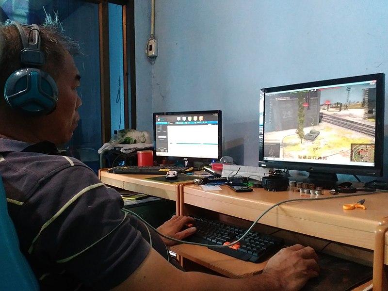 video-game-playing