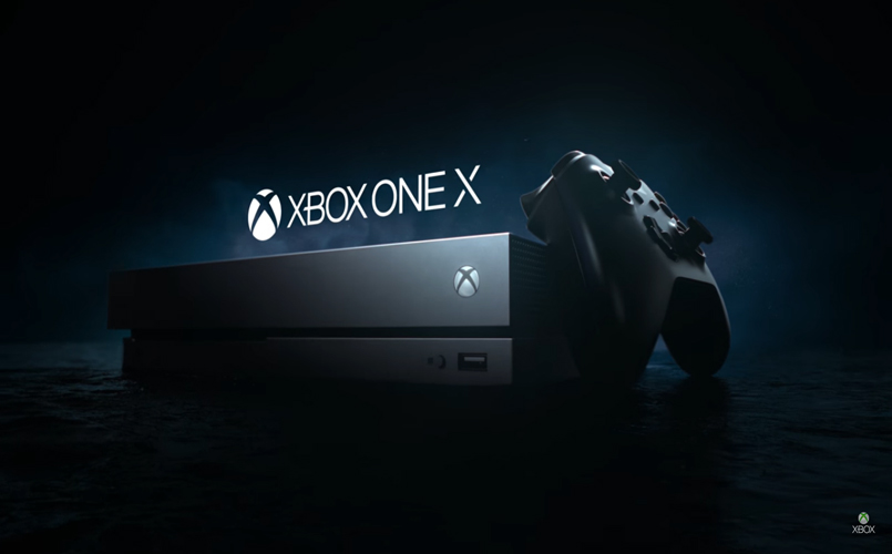 the xbox one x microsoft enters the 4k videogaming world. Black Bedroom Furniture Sets. Home Design Ideas