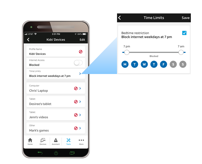 AT&T Smart Home Manager App lets you easily monitor and manage your home Wi-Fi network